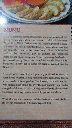 Thamel Momo Hut: Interesting intro on momos