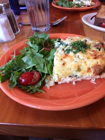 Moosewood Restaurant: The Fritata.