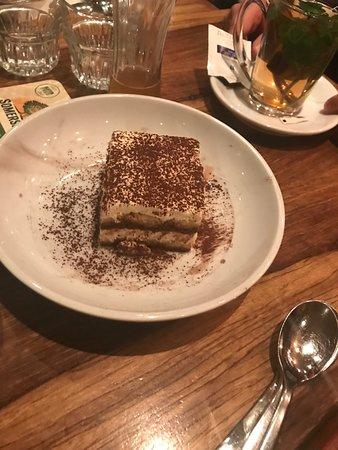 Rustico: And for dessert, traditional tiramisu!