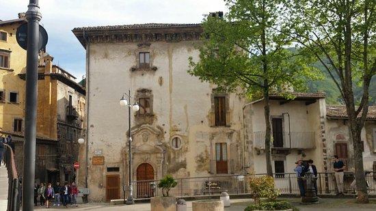 Scanno, Italy: Palazzo Mosca