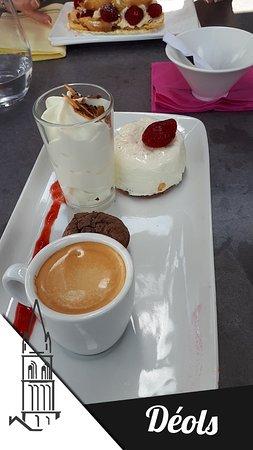 Deols, Frankreich: café gourmand