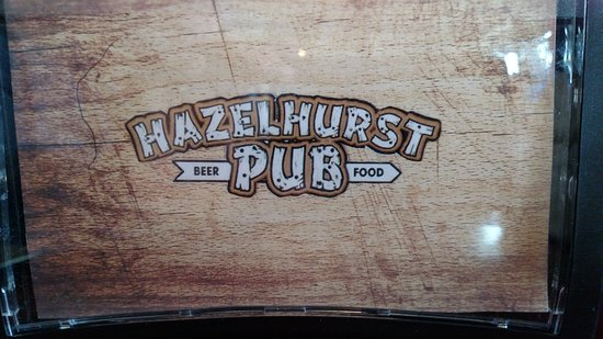 Hazelhurst Pub - at the Bearskin Bike trail - Hwy 51 - 5 minutes South of Minocqua