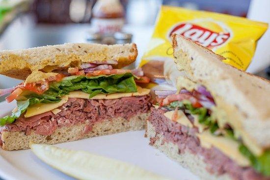 Brighton, CO: Roast Beef Sandwich!