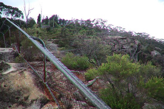 Elysian Rock Lookout: Heading back