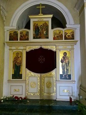 San Basile, Italia: Iconostasi laterale