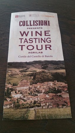 Agrilab - Wine Tasting Tour : Depliant