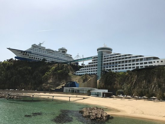 Sun Cruise hotel exterior view - coolest hotels in the world