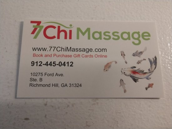 77 Chi Massage