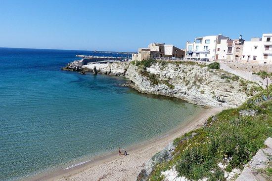 Lungomare Terrasini: Der kleine Strand