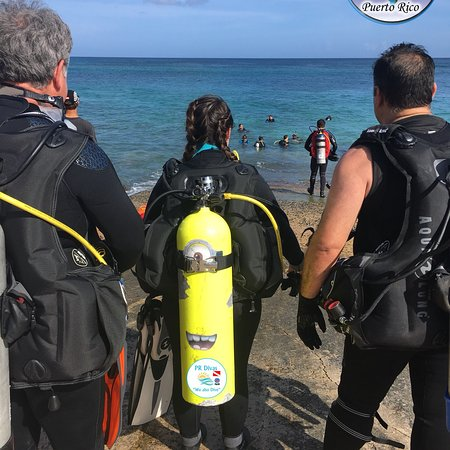 Vega Baja, Puerto Rico: Shore Dive Los Tubos Manati, Puerto Rico