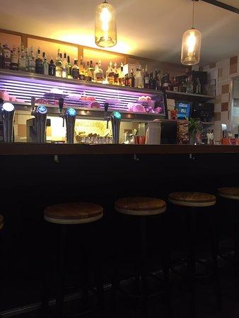 Lunchcafe Waterloo: inside bar