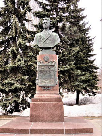 Monument to the Pilot Popkov
