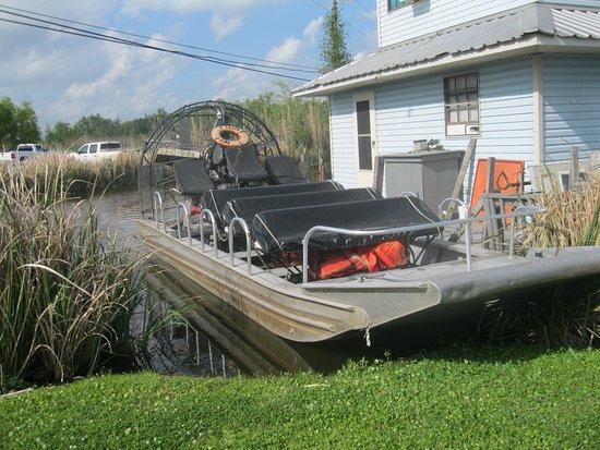 Des Allemands, Luizjana: The airboat