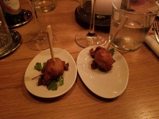Grande Saline, سانت بارتيليمي: fish appetizer