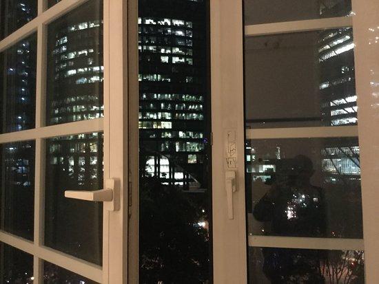Four Seasons Hotel Mexico City: Vista a la torre Mayor de reforma, grandiosa