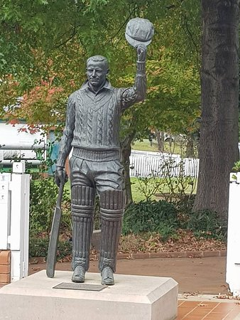 Bradman Museum & International Cricket Hall of Fame: The great man Sir Donald Bradman.
