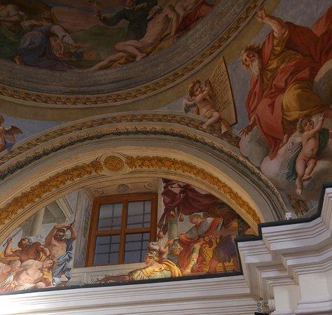 Moiano, อิตาลี: Gli affreschi di Tommaso Giaquinto