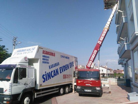 Sincan, ตุรกี: yenikent evden eve