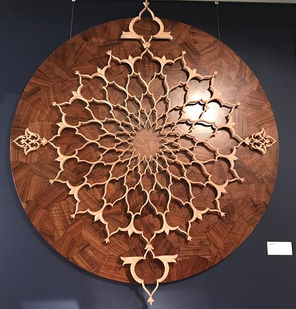 Incredible joinery and art!