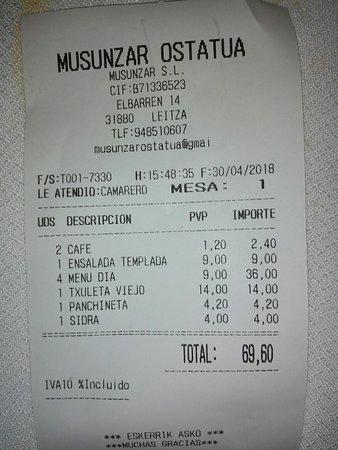 Leiza, إسبانيا: Musunzar