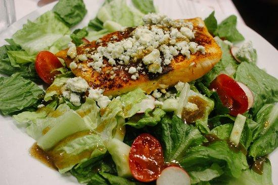 River House Seafood: salmon salad