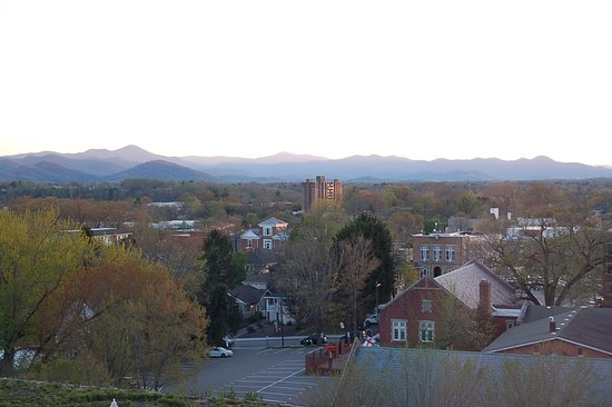 Aloft Asheville Downtown: View from our room