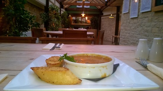 Cassington, UK: Veg Soup