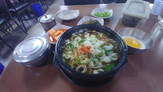 Bisa Beol Pancake Ju Yellow Beans Rice Soup