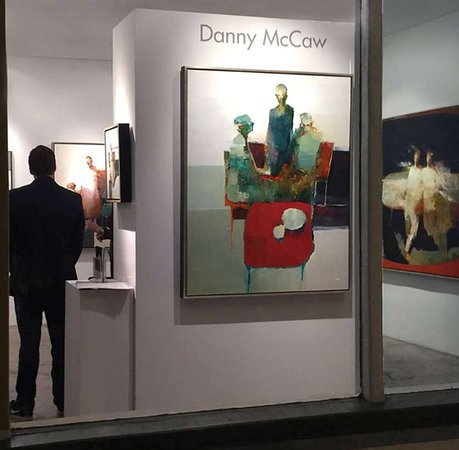 Artist Danny McCaw Opening Exhibition