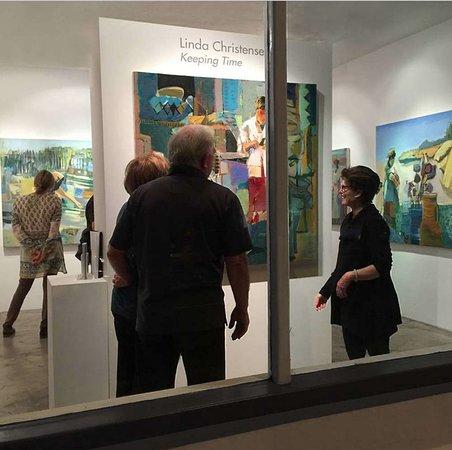 Artist Linda Christensen Opening Exhibition