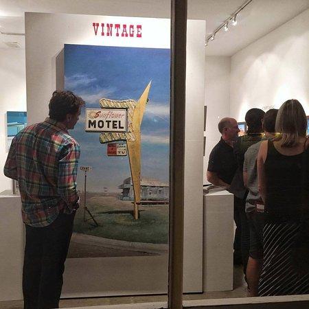 Artist Jason Kowalski - Vintage Group Show Opening Exhibiton