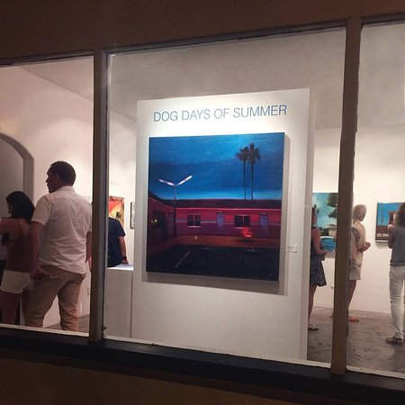 Dog Days of Summer Group Show with Artist Scott Yeskel Opening Exhibition