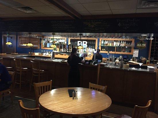 Baxter, MN: Bar area
