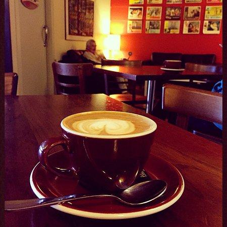 Great coffee and a snug café