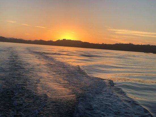 Isla Waiheke, Nueva Zelanda: Ferry ride from Fullers so stunning