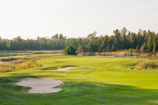 Drummond Island, ميتشجان: The Rock Golf Course at Drummond Island Resort, MI