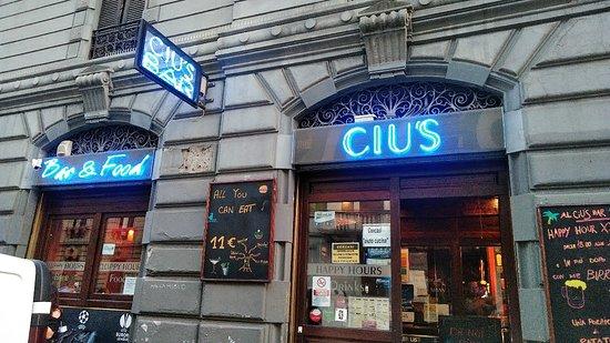 Ciu's: アペリティーボのビュッフェが充実していて、これだけでお腹いっぱいになります。