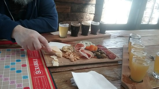 Door County Brewing: Suds, snacks and Scrabble a winning combo for a great afternoon!