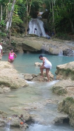 Irish Town, จาไมก้า: Blue Hole - St. Ann