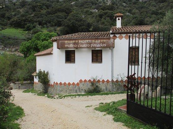 Benaoján, España: hotel entrance