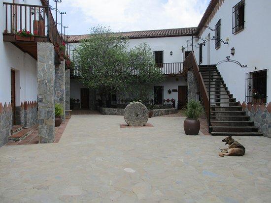 Benaoján, España: courtyard