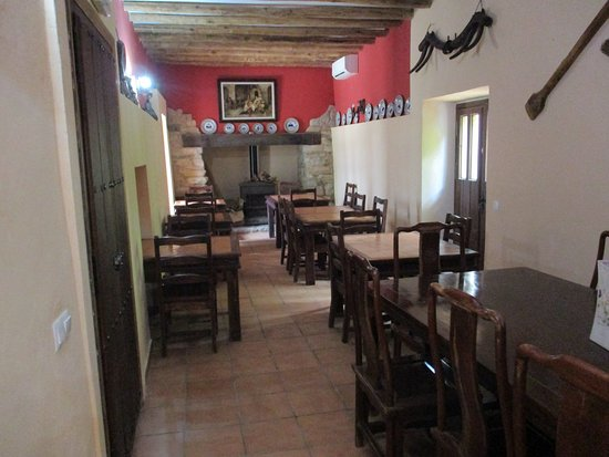 Benaoján, España: restaurant/breakfast room