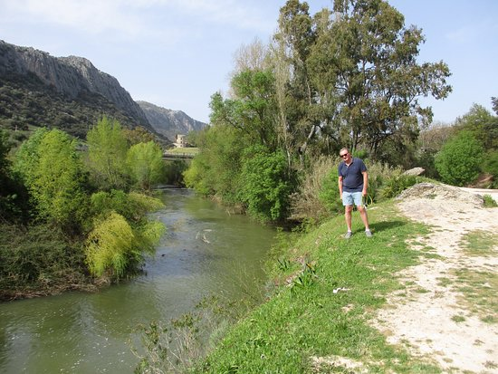 Benaojan, Spanyol: Riverside walk