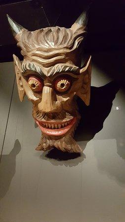 MAV - Museo dell'Artigianato Valdostano di Tradizione: Mashera scolpita nel legno