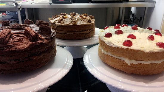 Aldington, UK: Homemade Cakes