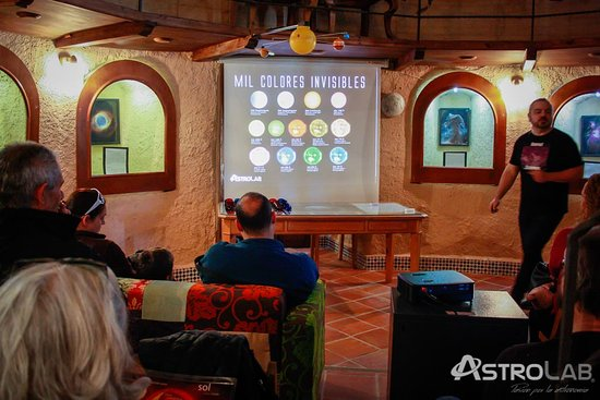 Yunquera, Spain: Taller en AstroLab