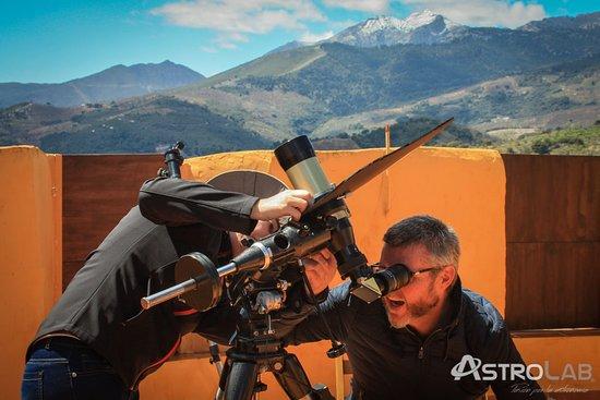 Yunquera, Spain: Observando la cromosfera solar