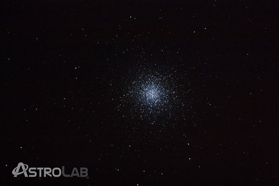 Yunquera, Spain: Cúmulo de Hercules desde el telescopio de AstroLab