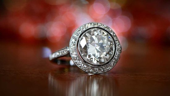 Dabolim, Ινδία: Diamond ring
