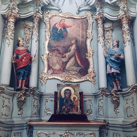Wigry, โปแลนด์: Kopia obrazu Matki Boskiej Częstochowskiej